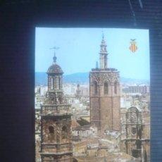 Postales: VALENCIA-TORRES SANTA CATALINA Y MIGUELETE.. Lote 210264991