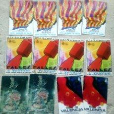 Postales: LOTE 19 POSTALES FALLAS VALENCIA. Lote 210603786