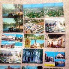 Postales: LOTE 44 POSTALES POBLACIONES COMUNIDAD VALENCIANA: ANNA, RAFELBUÑOL, TORRENT, CHULILLA, TUÉJAR.... Lote 210604516
