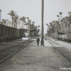 Postales: ELCHE-FERROCARRIL-ARCHIVO ROISIN-FOTOGRAFICA-POSTAL ANTIGUA-(72.806). Lote 211432497