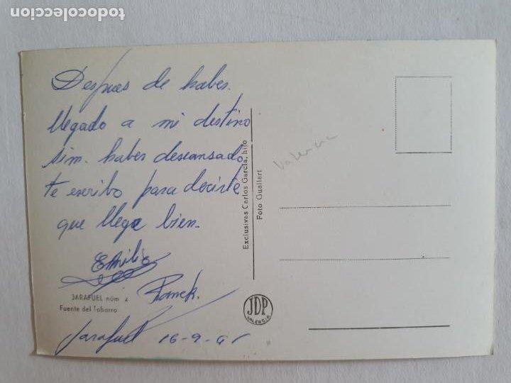 Postales: JARAFUEL - VALENCIA - FUENTE DEL TOBARRO - E2 - LMX - Foto 2 - 211734188