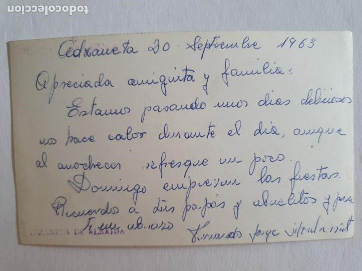 Postales: ADZANETA DE ALBAIDA - PISCINA - E2 - LMX - Foto 2 - 211734211