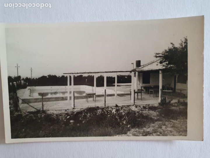 ADZANETA DE ALBAIDA - PISCINA - E2 - LMX (Postales - España - Comunidad Valenciana Moderna (desde 1940))