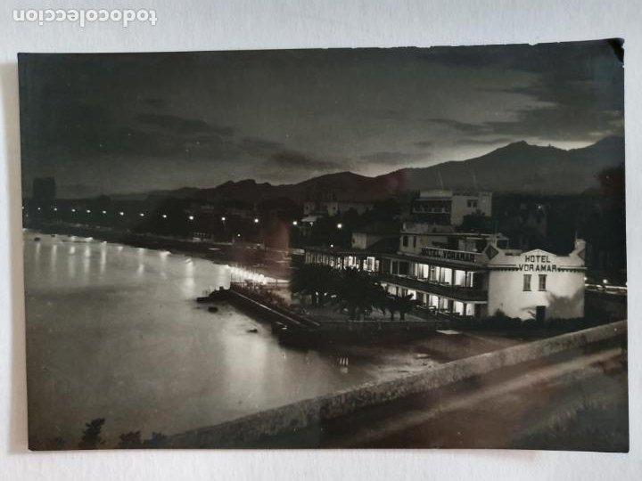 BENICÀSSIM - BENICASIM - LA PLAYA DE NOCHE - HOTEL VORAMAR - E2 - LMX (Postales - España - Comunidad Valenciana Moderna (desde 1940))