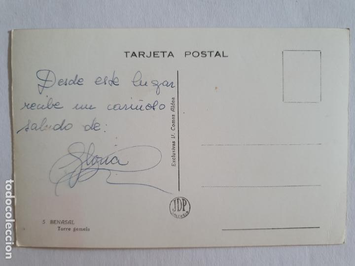 Postales: BENASSAL / BENASAL - TORRE GEMELA - E2 - LMX - Foto 2 - 211734364