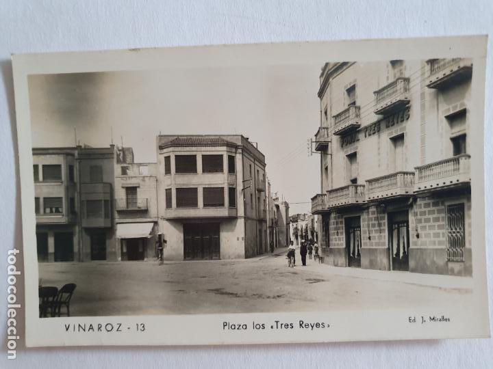 VINARÒS / VINAROZ - PLAZA LOS TRES REYES - E2 - LMX (Postales - España - Comunidad Valenciana Moderna (desde 1940))