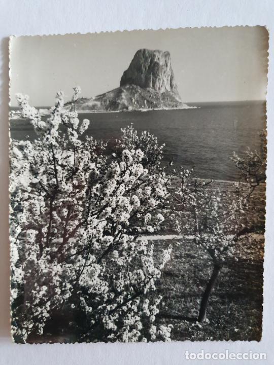 CALP / CALPE - ALMENDROS Y PEÑÓN DE IFACH / PENYAL DIFAC - E2 - LMX (Postales - España - Comunidad Valenciana Moderna (desde 1940))