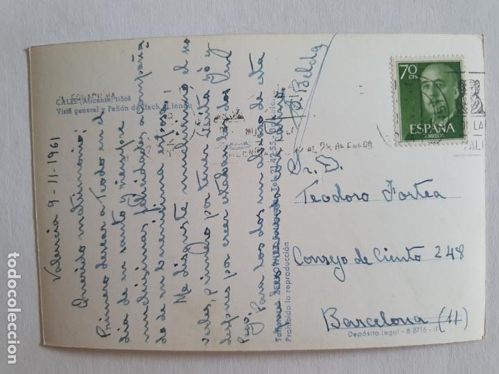 Postales: CALP / CALPE - PEÑÓN DE IFACH / PENYAL DIFAC - E2 - LMX - Foto 2 - 211734553