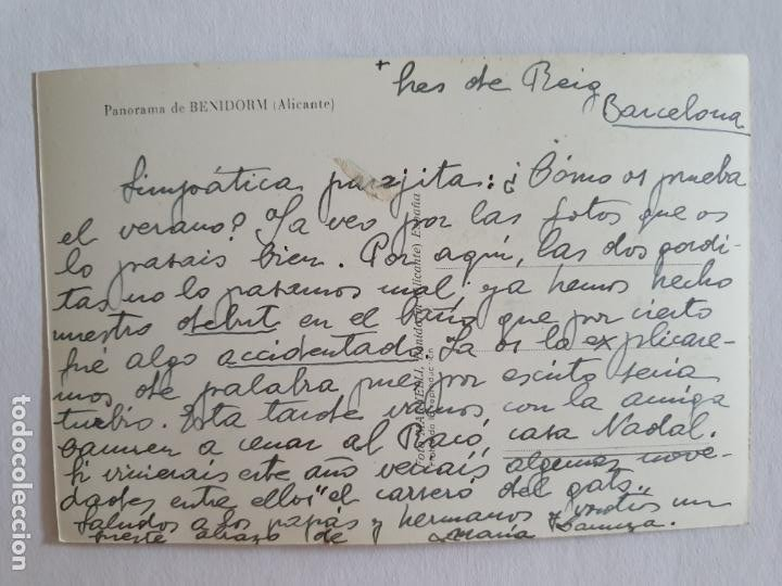 Postales: BENIDORM - PANORAMA - E2 - LMX - Foto 2 - 211734756