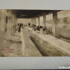 Postales: POSTAL FOTOGRAFICA CALLOSA DE ENSARRIA. LAVADEROS COLECCIÓN A. MARTÍN.. Lote 212357258