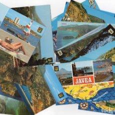Postales: VARIAS 17 POSTALES JAVEA ANTIGUAS. Lote 213020091