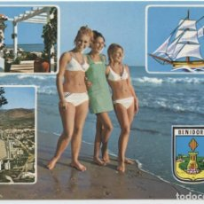 Postais: Nº 186-BENIDORM. DIVERSOS ASPECTOS. ESCRITA EN 1980. ED. FOTO RUEK. Lote 213098685