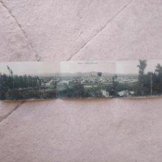 Postales: POSTAL UTIEL - TRIPLE - DESPLEGABLE - ED. RAFAEL MARTINEZ - ESCRITA Y FECHADA EN 1926. Lote 213354603