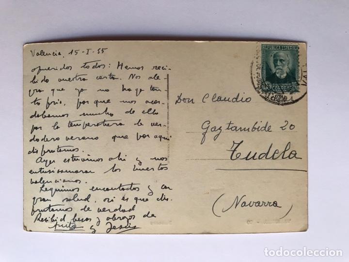 Postales: VALENCIA Postal No.10, Barracas, Edic., Dura (a.1935) Circulada Sello de la República... - Foto 2 - 213661088