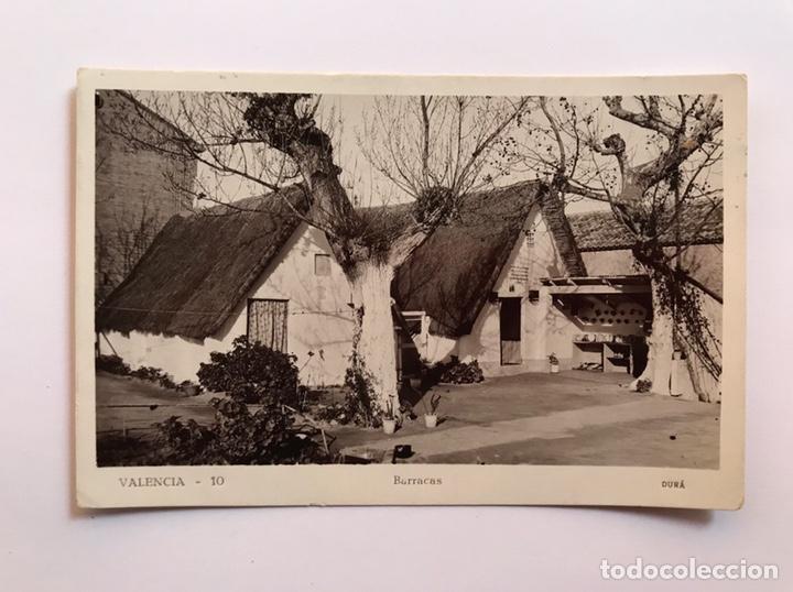 VALENCIA POSTAL NO.10, BARRACAS, EDIC., DURA (A.1935) CIRCULADA SELLO DE LA REPÚBLICA... (Postales - España - Comunidad Valenciana Antigua (hasta 1939))