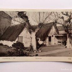 Postales: VALENCIA POSTAL NO.10, BARRACAS, EDIC., DURA (A.1935) CIRCULADA SELLO DE LA REPÚBLICA.... Lote 213661088