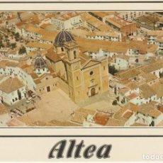 Postales: (1) ALTEA. ALICANTE. VISTA AEREA ... SIN CIRCULAR. Lote 213908127