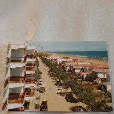 Postales: GANDIA PLAYA MIRAMAR VALENCIA EDICIÓN GARRABELLA 38. Lote 213912946