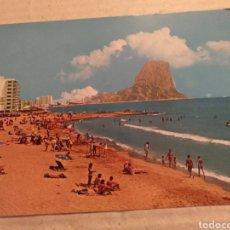Postales: POSTAL DE LA COSTA BLANCA 1977. CALPE LA PLAYA . SIN CIRCULAR. Lote 213921377