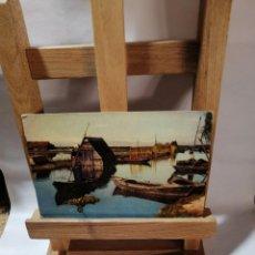 Postales: POSTAL VALENCIA CANAL DE LA ALBUFERA SIN CIRCULAR. Lote 213932052