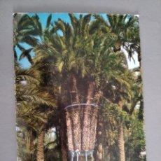 Postales: POSTAL 92 ELCHE ALICANTE HUERTO DEL CURA PALMERA IMPERIAL DE OCHO BRAZOS AÑO 1971. Lote 213956268