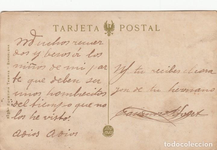 Postales: POSTAL VALENCIA .- CALLE DE COLON -FOT.THOMAS NUM. 134 - TRANVÍA- - Foto 2 - 213959306