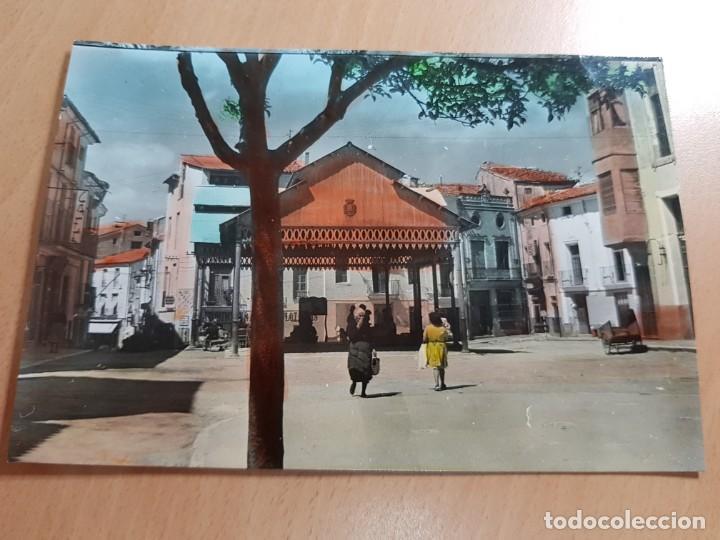 ANTIGUA POSTAL COLOREADA AYORA VALENCIA IMPRENTA ALVERO (Postales - España - Comunidad Valenciana Moderna (desde 1940))