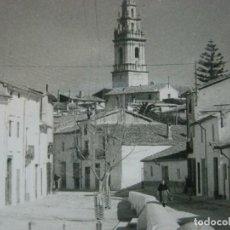 Postales: PEGO-CAMPANARIO DESDE PLAZA DE LOS MARTIRES-HNOS GALIANA CALLOSA-POSTAL ANTIGUA-VER FOTOS-(73.545). Lote 215391466