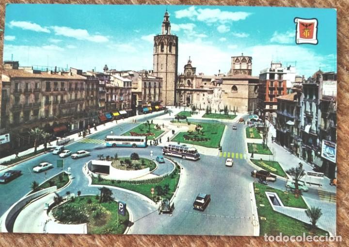 VALENCIA - PLAZA DE ZARAGOZA (Postales - España - Comunidad Valenciana Moderna (desde 1940))