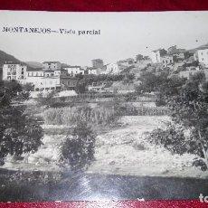 Postales: POSTAL FOTOGRÁFICA : MONTANEJOS.. Lote 215448696