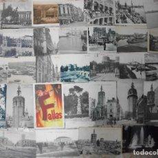 Postales: 34 TARJETAS POSTALES ANTIGUAS DE VALENCIA VISTAS TIPOS - POSTAL. Lote 216594765