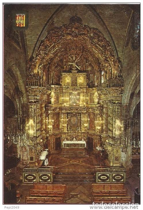 == P16 - POSTAL - MORELLA - CASTELLON - IGLESIA ARCIPRESTAL (Postales - España - Comunidad Valenciana Moderna (desde 1940))