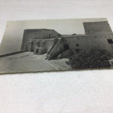 Postales: POSTAL FOTOGRAFICA - PEÑISCOLA - HABITACION DEL PAPA LUNA. Lote 217929837