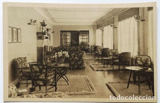 POSTAL ALICANTE CASA DE REPOSO Y SANATORIO PERPETUO SOCORRO (Postales - España - Comunidad Valenciana Antigua (hasta 1939))