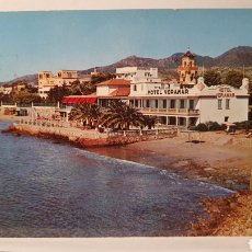 Postales: N°2 BENICASIN/ HOTEL VORAMAR/ CIRCULADA/ (REF.D.106). Lote 218901621