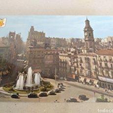 Postales: POSTAL DE VALENCIA 1967. PLAZA DE LA REINA Y CALLE SAN VICENTE. SIN CIRCULAR. Lote 218905147