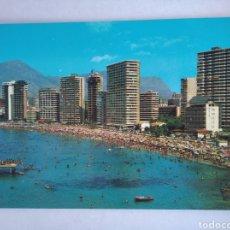 Postales: POSTAL ALICANTE 36 BENIDORM PLAYA DE LEVANTE ED ARRIBAS. Lote 218917835