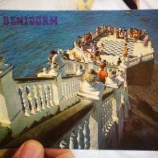 Cartes Postales: POSTAL BENIDORM VISTA MIRADOR DEL CASTILLO N 136 GALIANA S/C. Lote 219280747