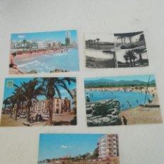 Postales: POSTALES DE BENIDORM, JÁVEA Y VILLAJOYOSA AÑOS 60 ( 19 UDS). Lote 220141567