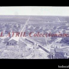 Postales: VILLAVIEJA, CASTELLON - CLICHE - NEGATIVO EN CELULOIDE - AÑOS 1900-1920 - FOTOTIP. THOMAS, BARCELONA. Lote 220497483