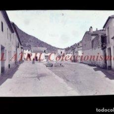 Postales: VILLAVIEJA, CASTELLON - CLICHE - NEGATIVO EN CELULOIDE - AÑOS 1900-1920 - FOTOTIP. THOMAS, BARCELONA. Lote 220497670