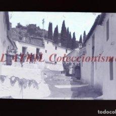 Postales: VILLAVIEJA, CASTELLON - CLICHE - NEGATIVO EN CELULOIDE - AÑOS 1900-1920 - FOTOTIP. THOMAS, BARCELONA. Lote 220497710