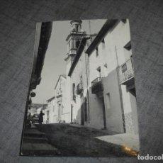 Postales: POSTAL ALICANTE AYELO DE RUGAT. Lote 221174221