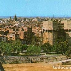 Postales: VALENCIA - 868 TORRES DE LOS SERRANOS. Lote 221576645