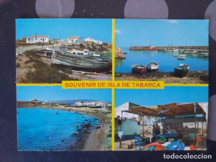 POSTAL ISLA DE TABARCA (ALICANTE) (Postales - España - Comunidad Valenciana Moderna (desde 1940))