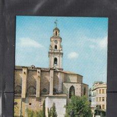 Postales: 55 GANDIA. PLAZA DEL CAUDILLO Y COLEGIATA. Lote 221902220