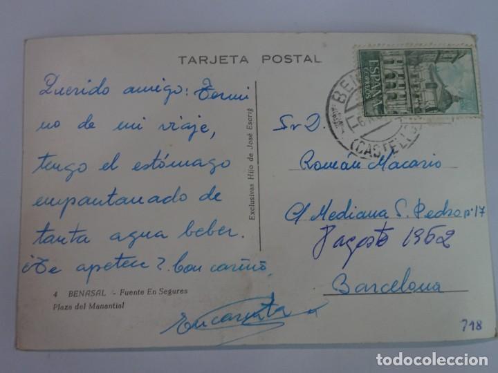 Postales: ANTIGUA POSTAL FOTOGRÁFICA, BENASAL, VER FOTOS - Foto 2 - 222060602