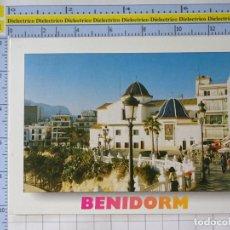 Postales: POSTAL DE ALICANTE. AÑO 1995. BENIDORM PLAZA DE CASTELAR. 83 GALIANA. 1226. Lote 222077607