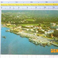 Postales: POSTAL DE ALICANTE. AÑO 1977. DENIA VISTA PARCIAL PUERTO. 12 GALIANA. 1232. Lote 222077931