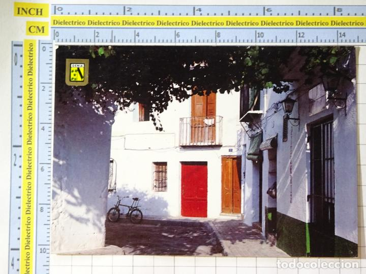 POSTAL DE ALICANTE. AÑO 1987. DENIA. BICI TIPO MOTORETA. 200 ESCUDO ORO. 1237 (Postales - España - Comunidad Valenciana Moderna (desde 1940))